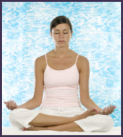 meditate regularly to promote your intuition and psychic abilities