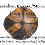 Chiastolite, Fairy Cross Or Cross Stone